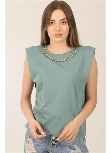 Emjey Tişört Yeşil
